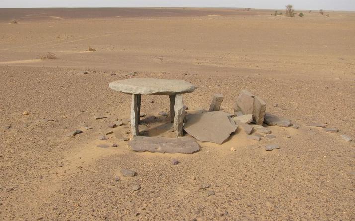 Sahra çölünde esrarengiz bir uygarlığın izine rastlandı