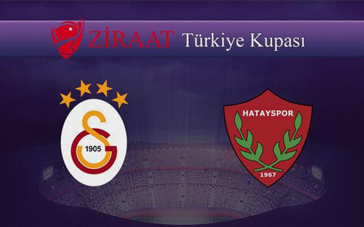 Galatasaray - Hatayspor maçı özet ve golleri