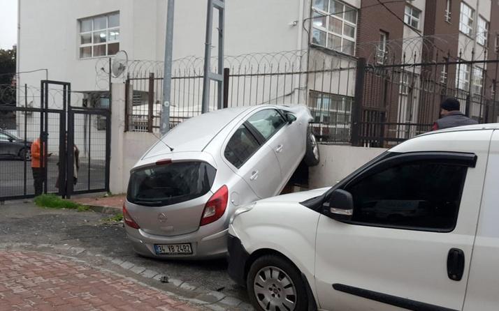 Kızının arabasını gizlice alan yaşlı adam dehşet saçtı