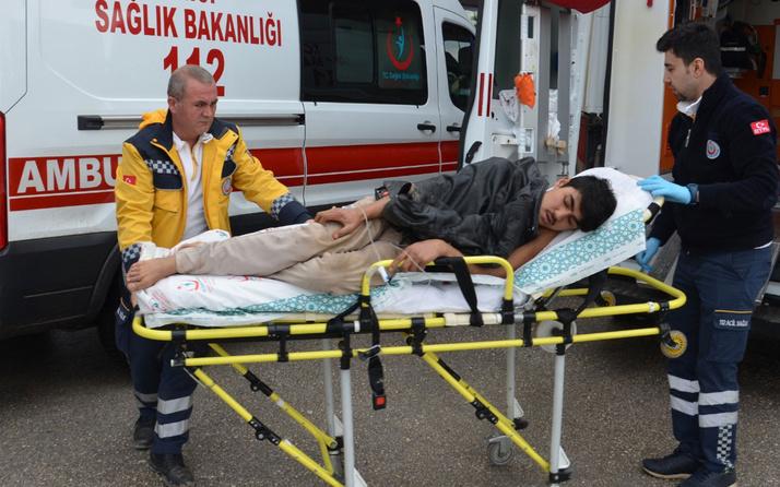 Karaman'da Suriyeliler ile Afganistanlılar birbirine girdi! Yaralılar var
