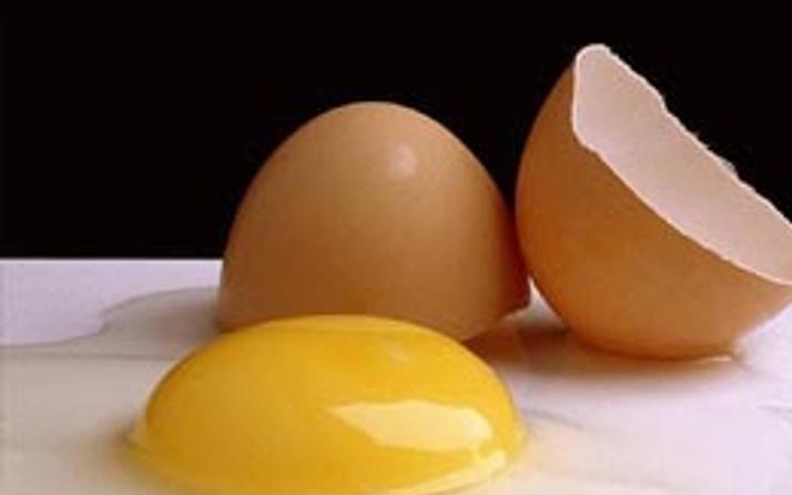 Sahanda yumurta yasağı!