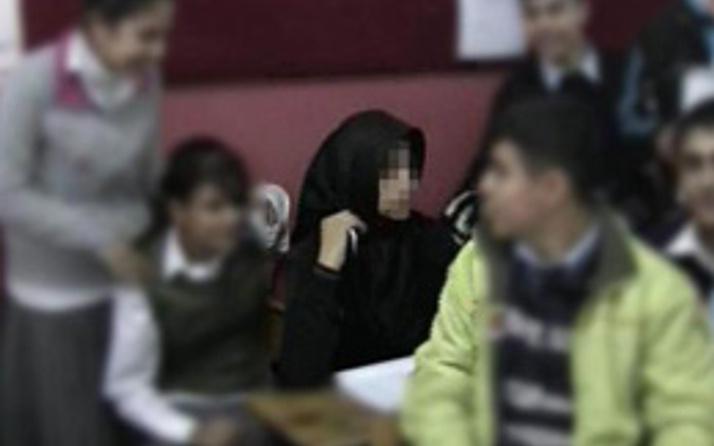 İlköğretim Okulu'nda 'türbanlı' ders