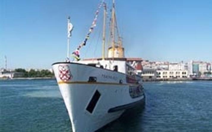 Tarihi Fenerbahçe vapuru bakımda