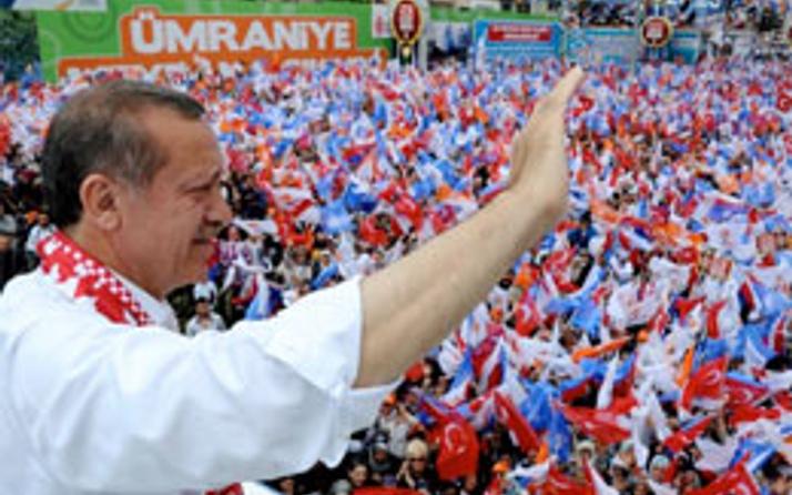 Olay pankart Erdoğan'ın dilinde
