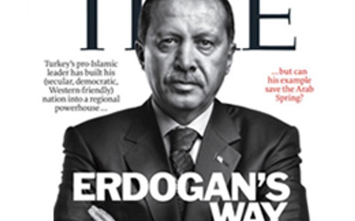 Erdoğan TIME'a böyle kapak oldu