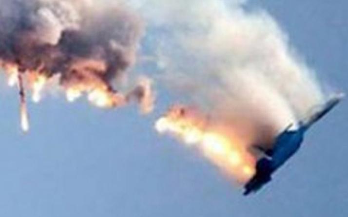 ABD uçağı Kore'ye düştü!