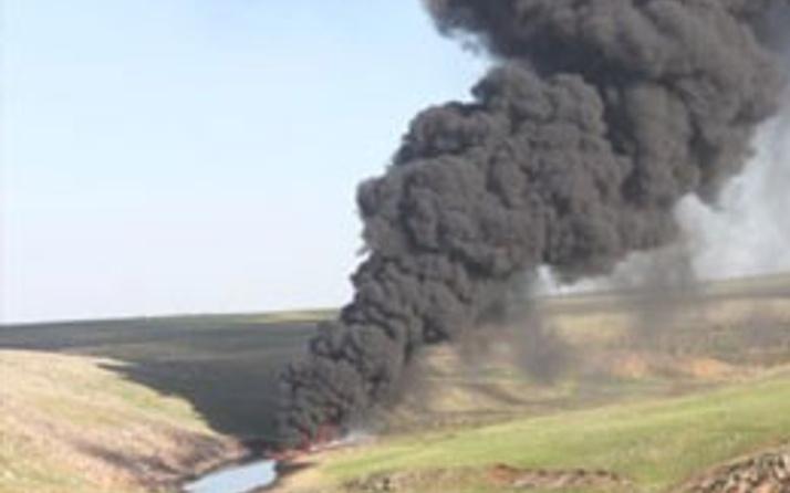 PKK'dan boru hattına sabotaj