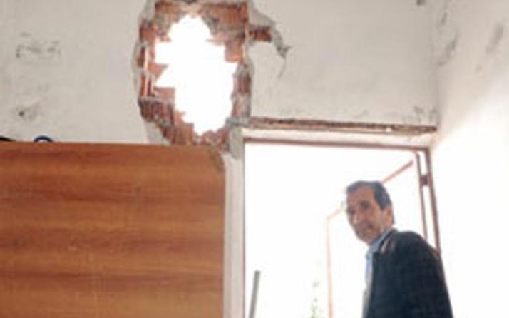 Antalya'da yıldırım dehşeti