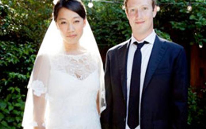 Facebook'un patronu evlendi!