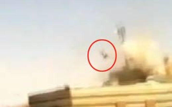 Esad'ın keskin nişancısı böyle patlatıldı