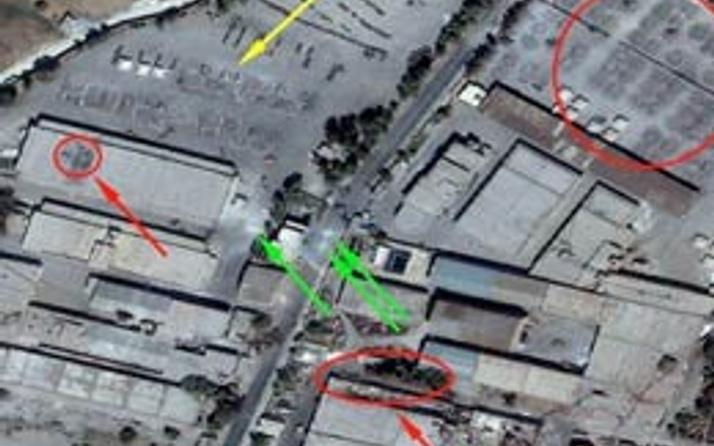 Esad'ın silah kuşatması uydu fotoğraflarında!