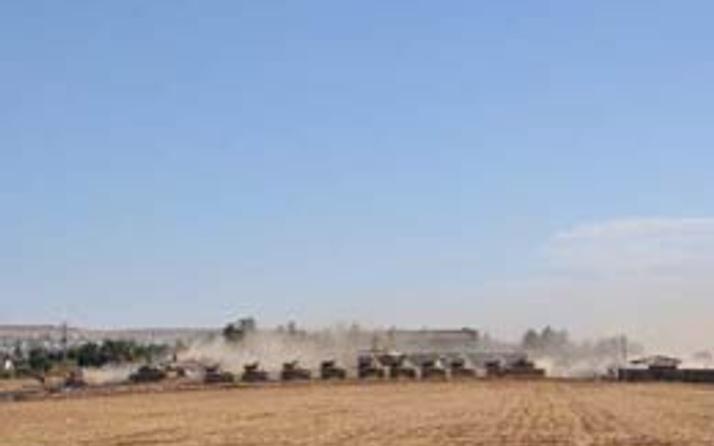 Suriye sınırında tatbikat!