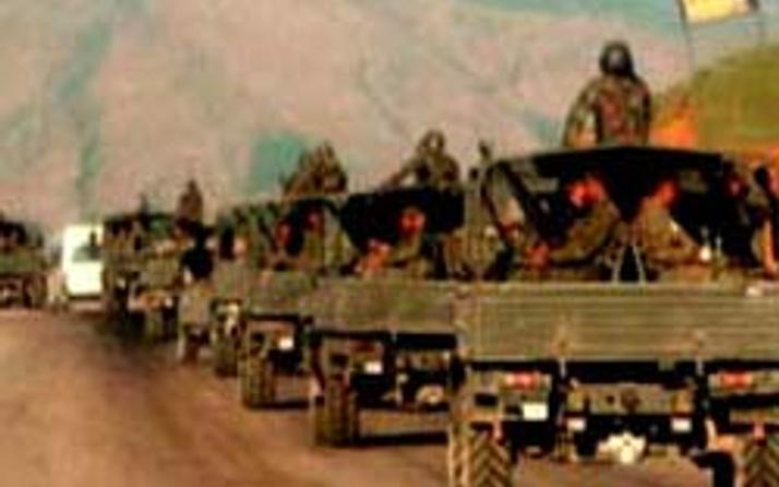 Asker Irak sınırına hareket etti