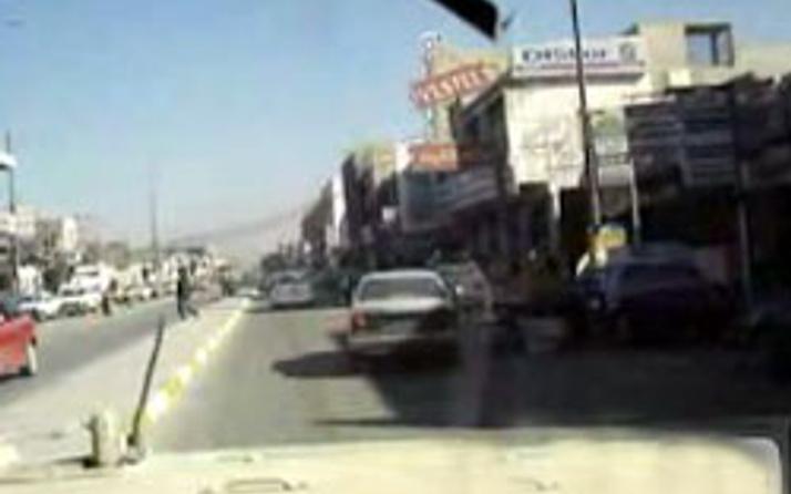 ABDli trafik canavarı asker video