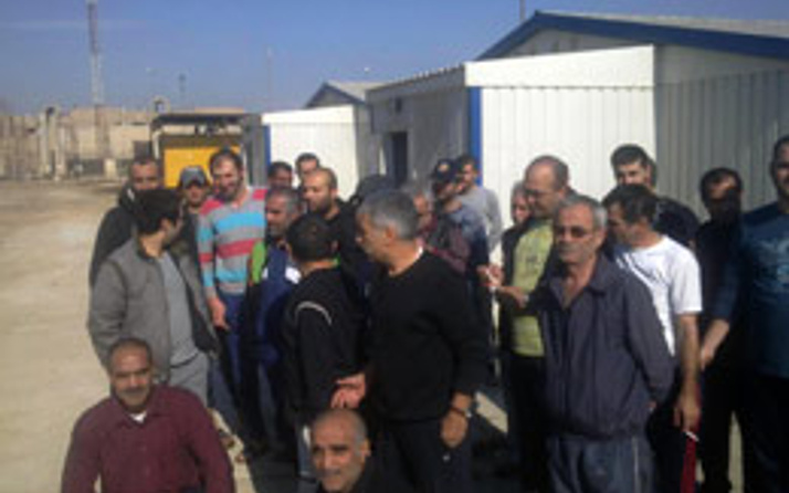 40 işçi Irak'ta mahsur kaldı