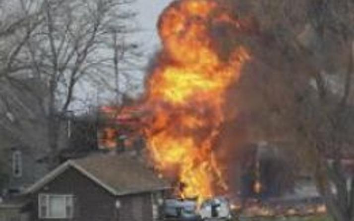 ABD: İtfaiye erlerine tuzak kuran saldırgan not bırakmış