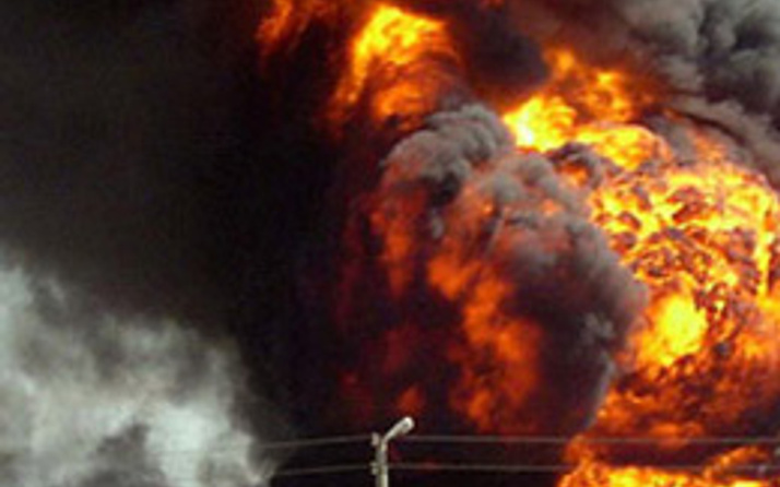 İsrail'de büyük patlama