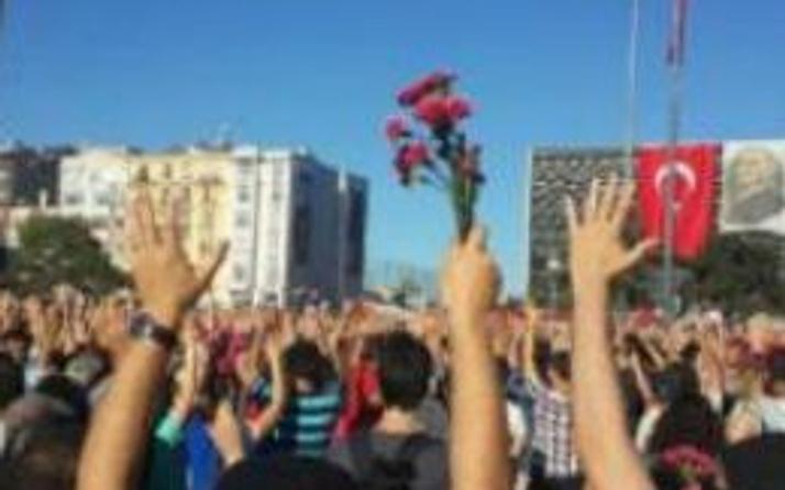 Taksim'de Ethem Sarısülük eylemi