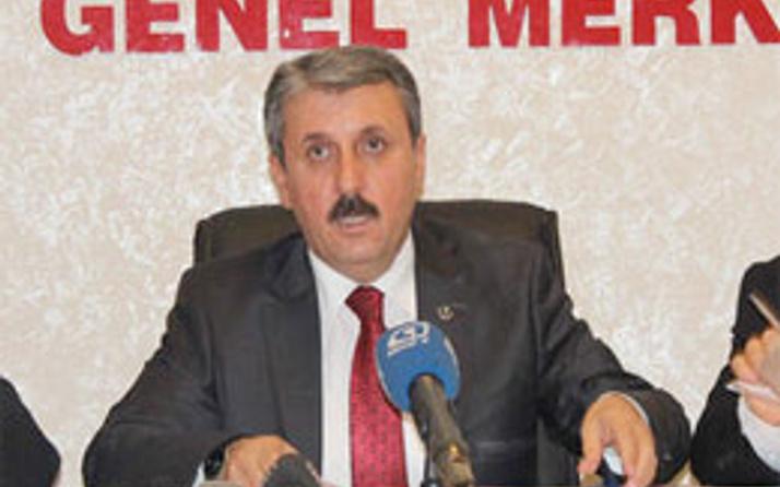 BBP liderinden PKK uyarısı