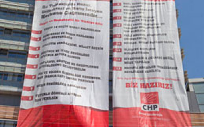 CHP'yi kapatan 17 maddelik bildirge