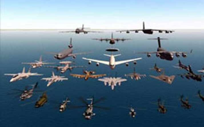 F16'lar İngiliz savaş uçaklarını kovaladı