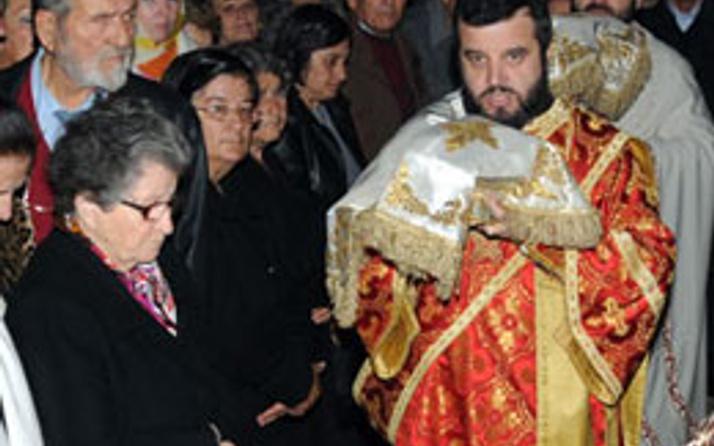 Antalya'da Noel Baba ayini düzenlendi