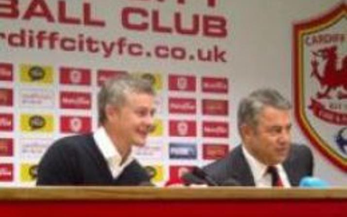 Cardiff'in yeni teknik direktörü Solskjaer