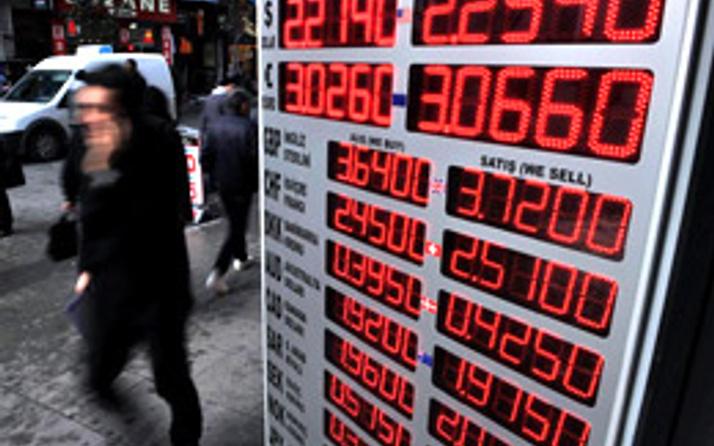 Euro dolar karşısında 3 ayın en düşüğünde