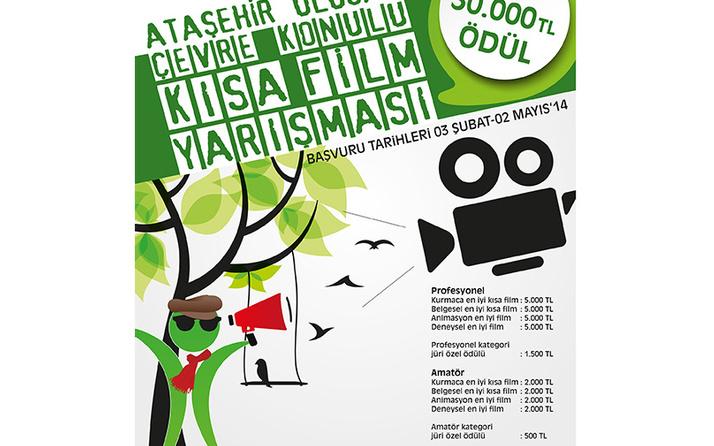 Ataşehir Ulusal Kısa Film Yarışması'na yoğun ilgi