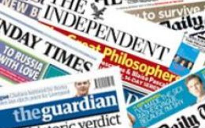 12 Mayıs İngiltere Basın Özeti
