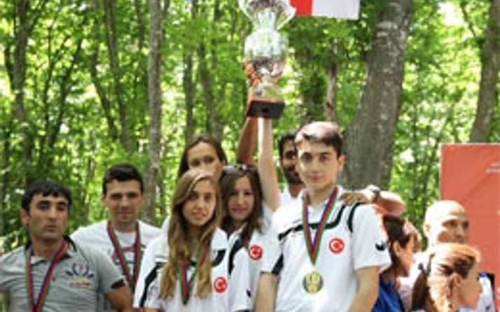 Türk sporcuları birincilik kürsüsünde!