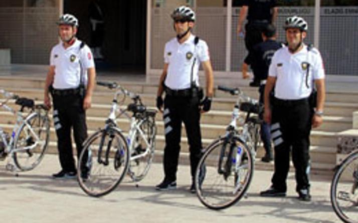Elazığ'da bisikletli Martı Timi göreve hazır