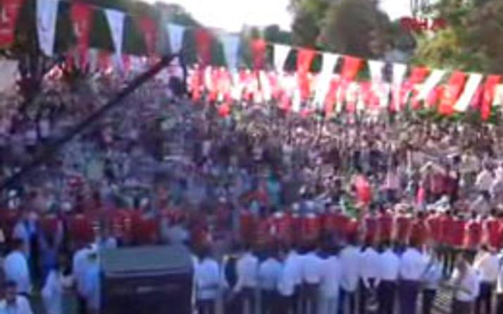 Saadet Partisi'nden Ayasofya önünde miting