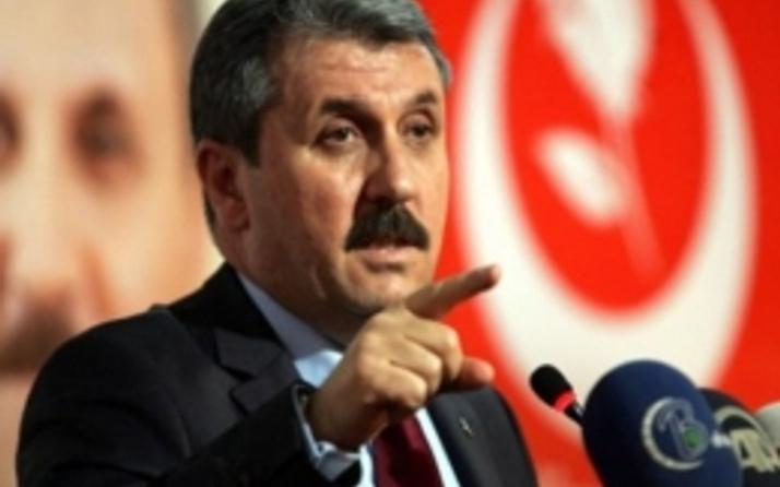 BBP Lideri Mustafa Destici'den şok Kobani açıklaması