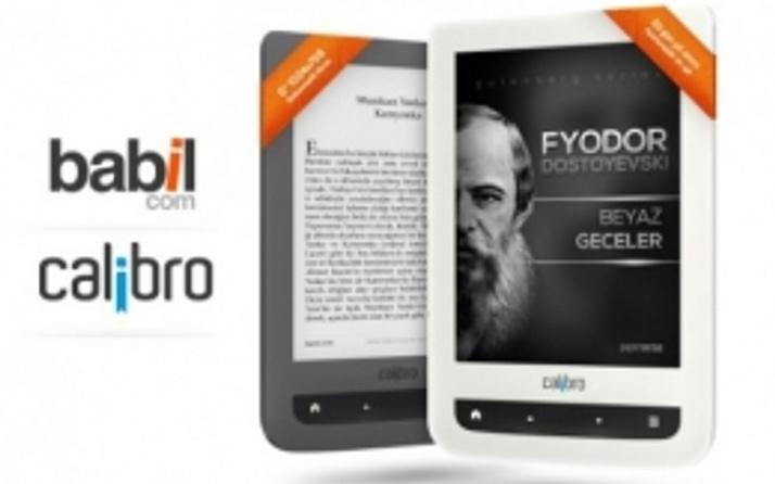 Yerli üretim ilk e-kitap okuyucu Calibro çıktı