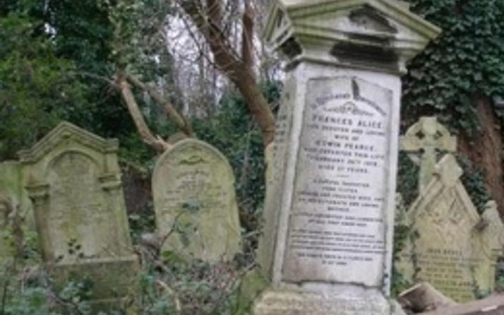 Alevi mezarlığına saldıranlar hala bulunamadı