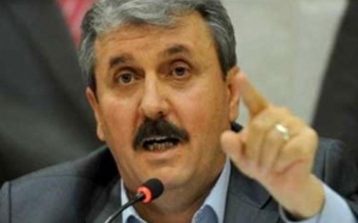 BBP lideri Destici MİT'e ateş püskürdü