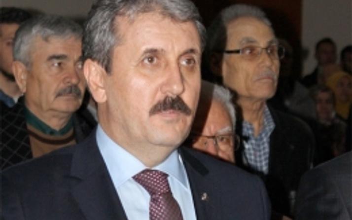 BBP lideri Destici'den PKK açıklaması