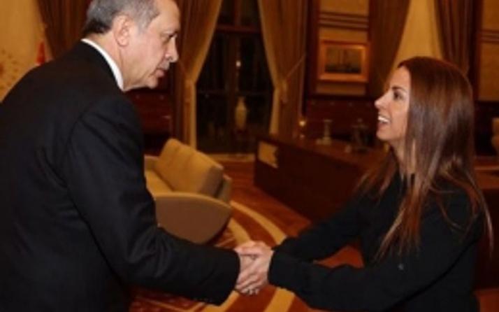 Erdoğan AK Saray'da Niran Ünsal'ı ağrıladı