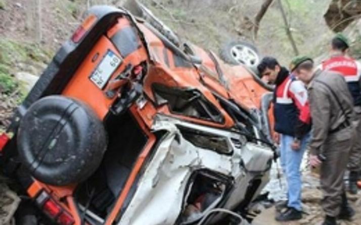 Off-road gezisinde korkunç kaza!