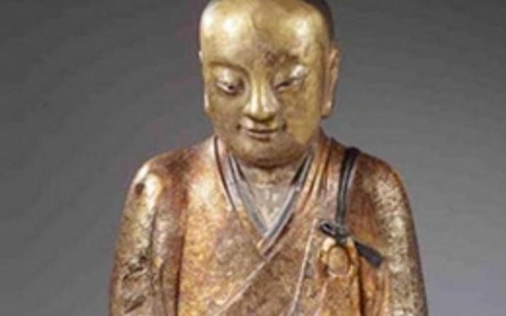 Buda heykelinin içinden bakın ne çıktı?