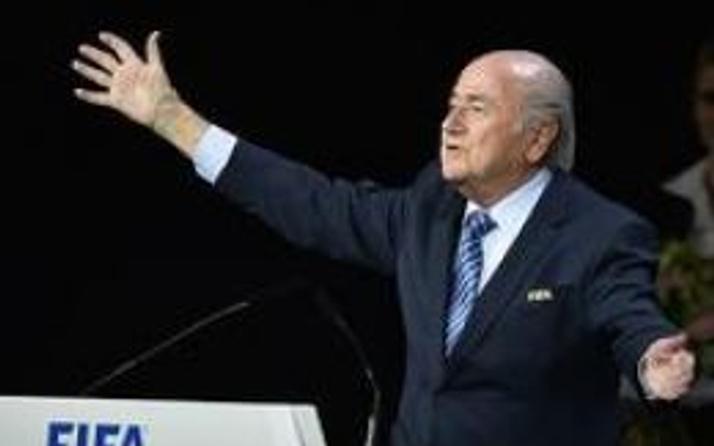 Sepp Blatter yine FIFA başkanı
