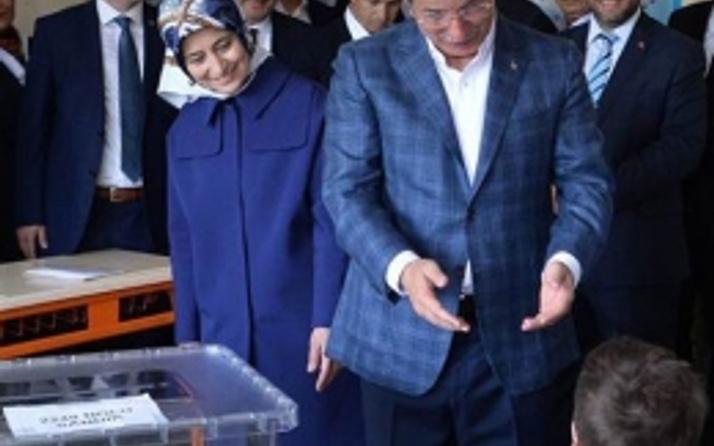 Davutoğlu'nun sandığından hangi parti çıktı?