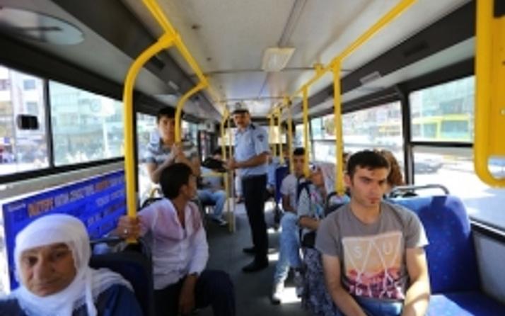 Gaziantep'te toplu taşıma araçlarına klima denetlemesi