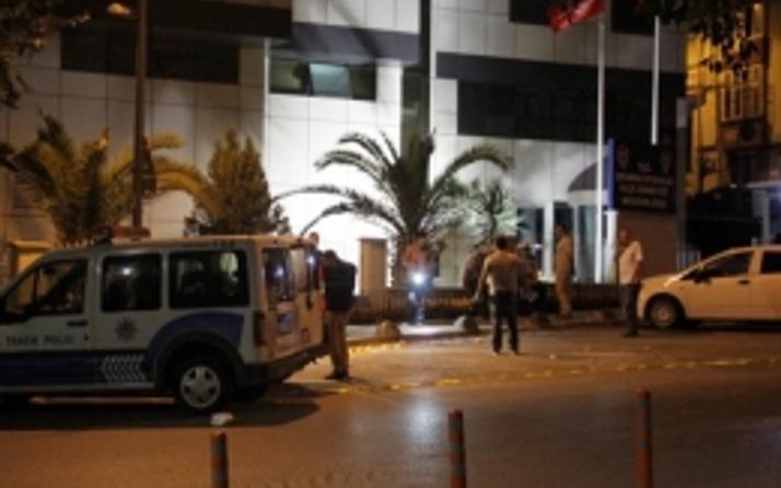 Emniyet Müdürlüğü binasına 2 ses bombası