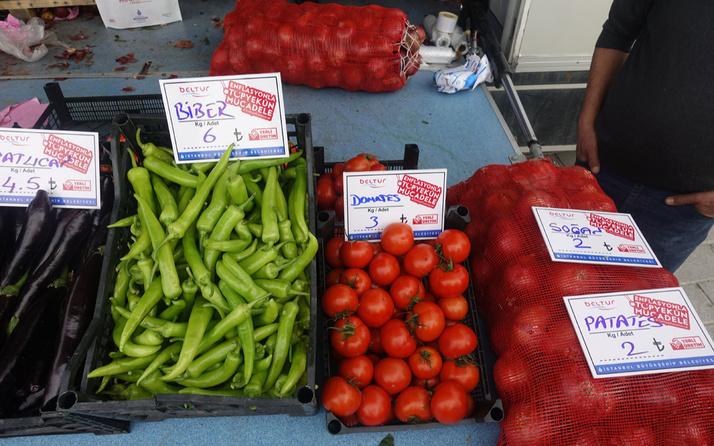 Halk Sebze satış yerleri! Hal esnafı panikle fiyat indirdi rakama bakın