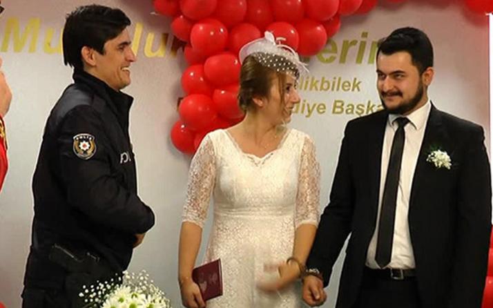Evlenecek çiftten önce imza sonra kelepçe