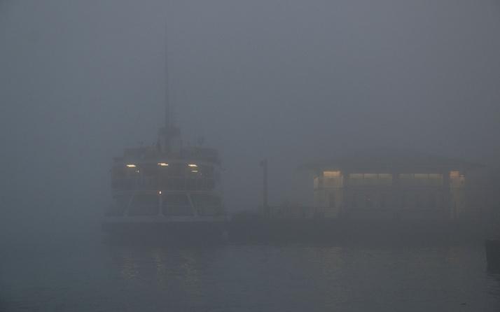 İstanbul'da sis etkili oluyor: Vapur seferleri iptal edildi!