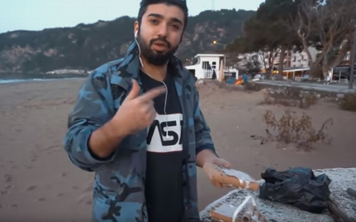 Bartınlı YouTuber'a havai fişek cezası
