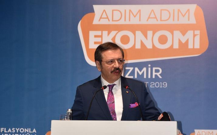 TOBB Başkanı Rifat Hisarcıklıoğlu' İşten çıkarmaya gerek yok'